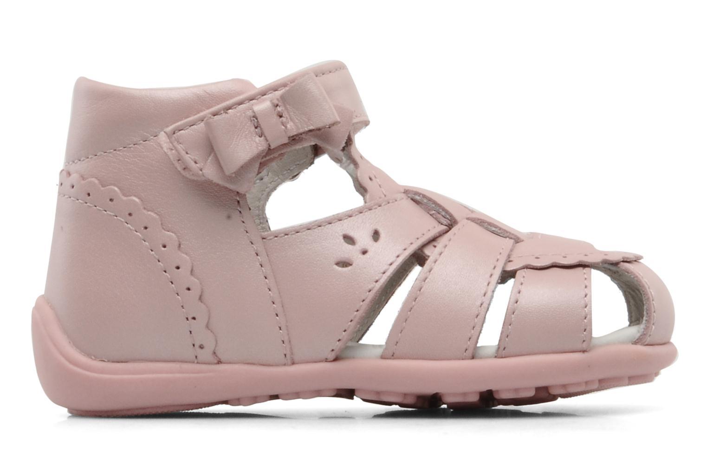 Sandalen Chicco GIARA rosa ansicht von hinten