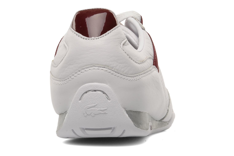 Sneakers Lacoste Telesio Hs Bianco immagine destra