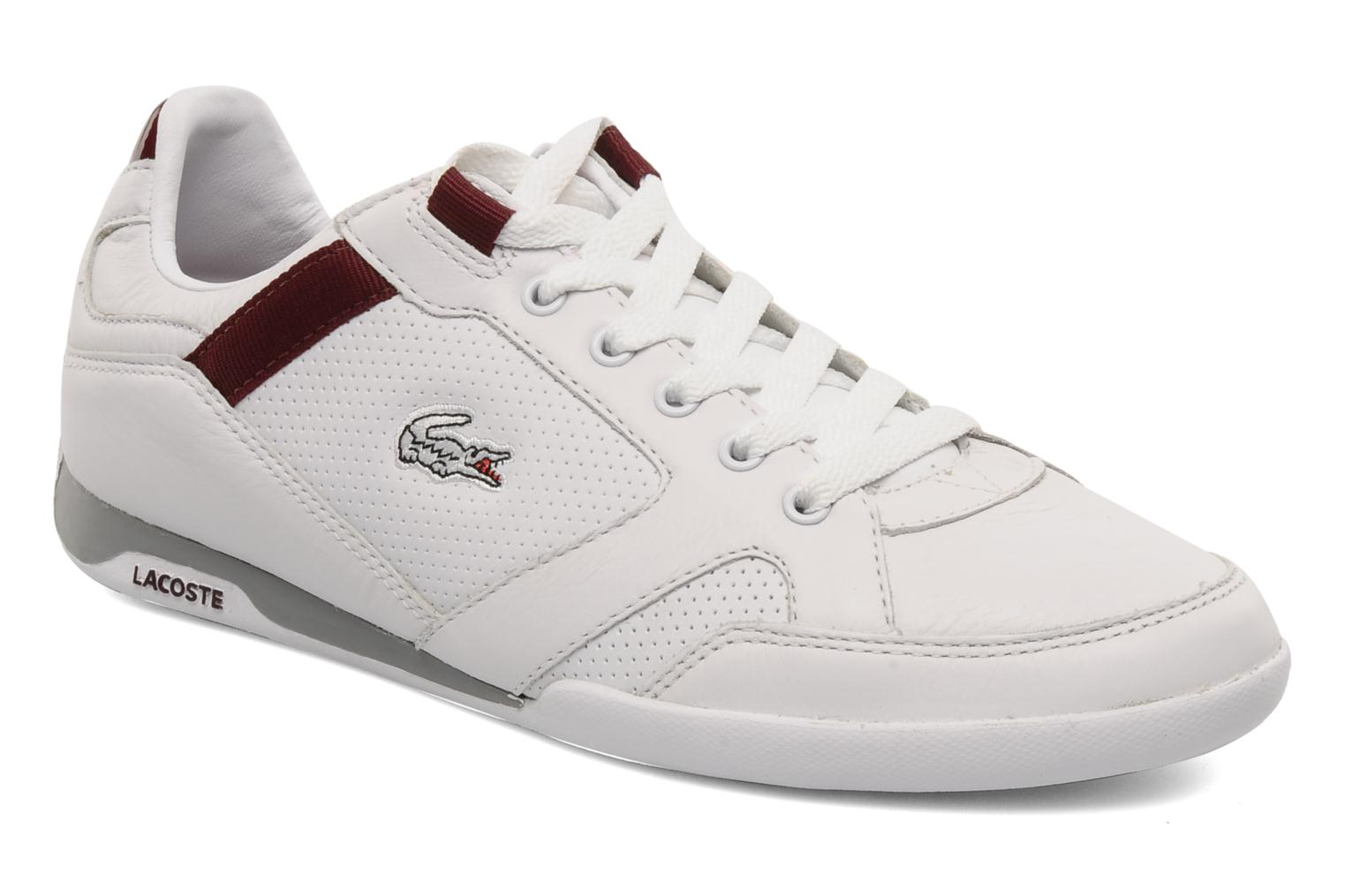 Telesio Hs White Dark Red