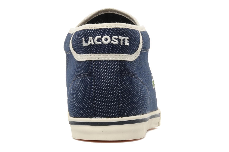 Sneakers Lacoste Ampthill Tk Azzurro immagine destra