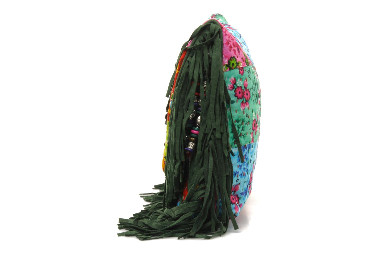 Sacs pochettes Antik Batik HIDA WALLET Vert vue portées chaussures