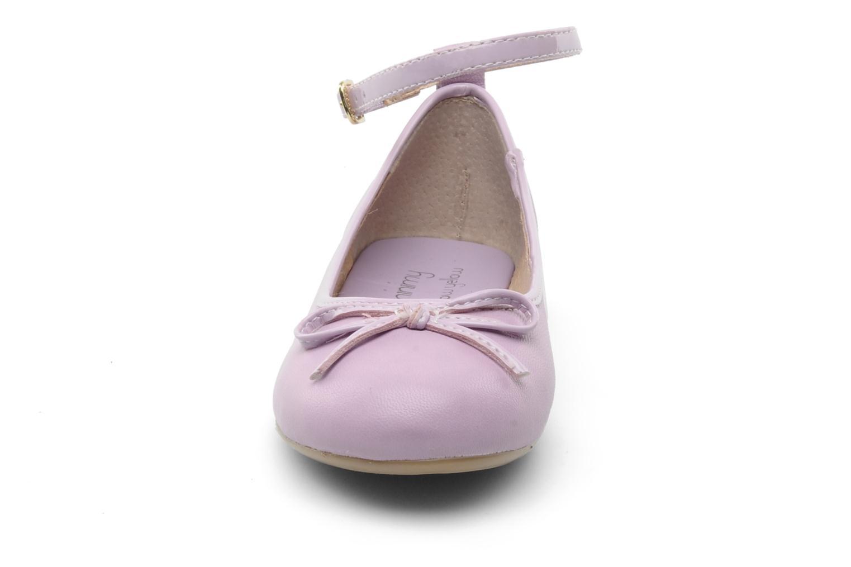Ballerinas Mellow Yellow Lola-E lila schuhe getragen