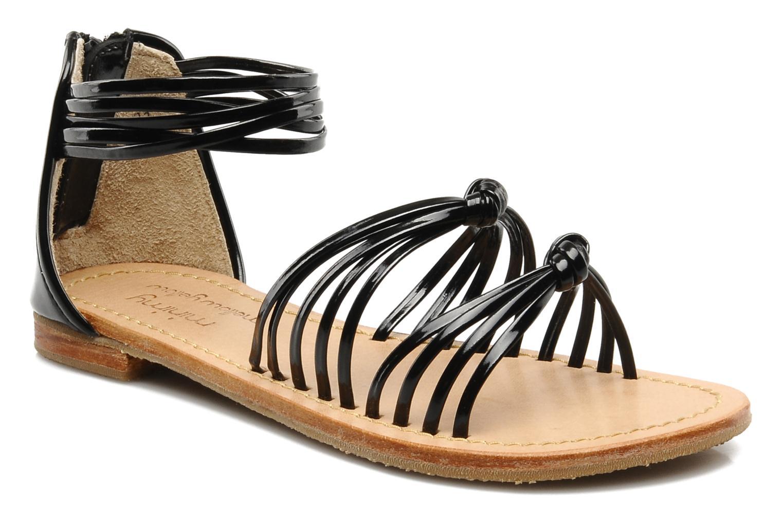 Sandales et nu-pieds Mellow Yellow Lolipop Noir vue détail/paire