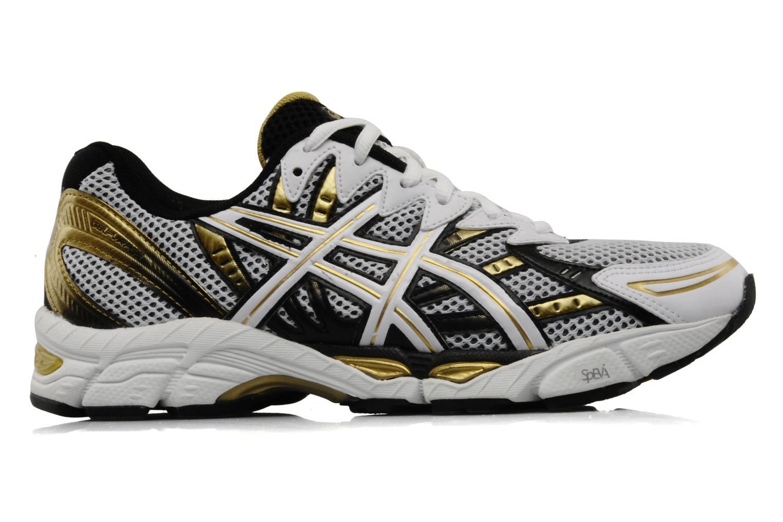 Chaussures de sport Asics Gel Virage 6 Blanc vue derrière