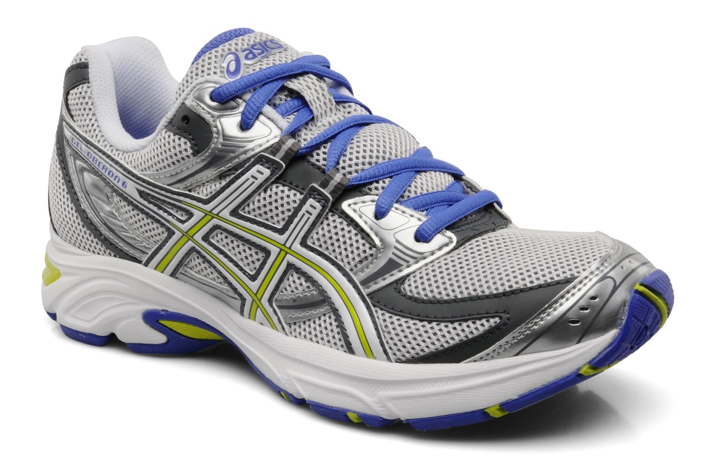 Chaussures de sport Asics Lady Gel Oberon 6 Gris vue détail/paire