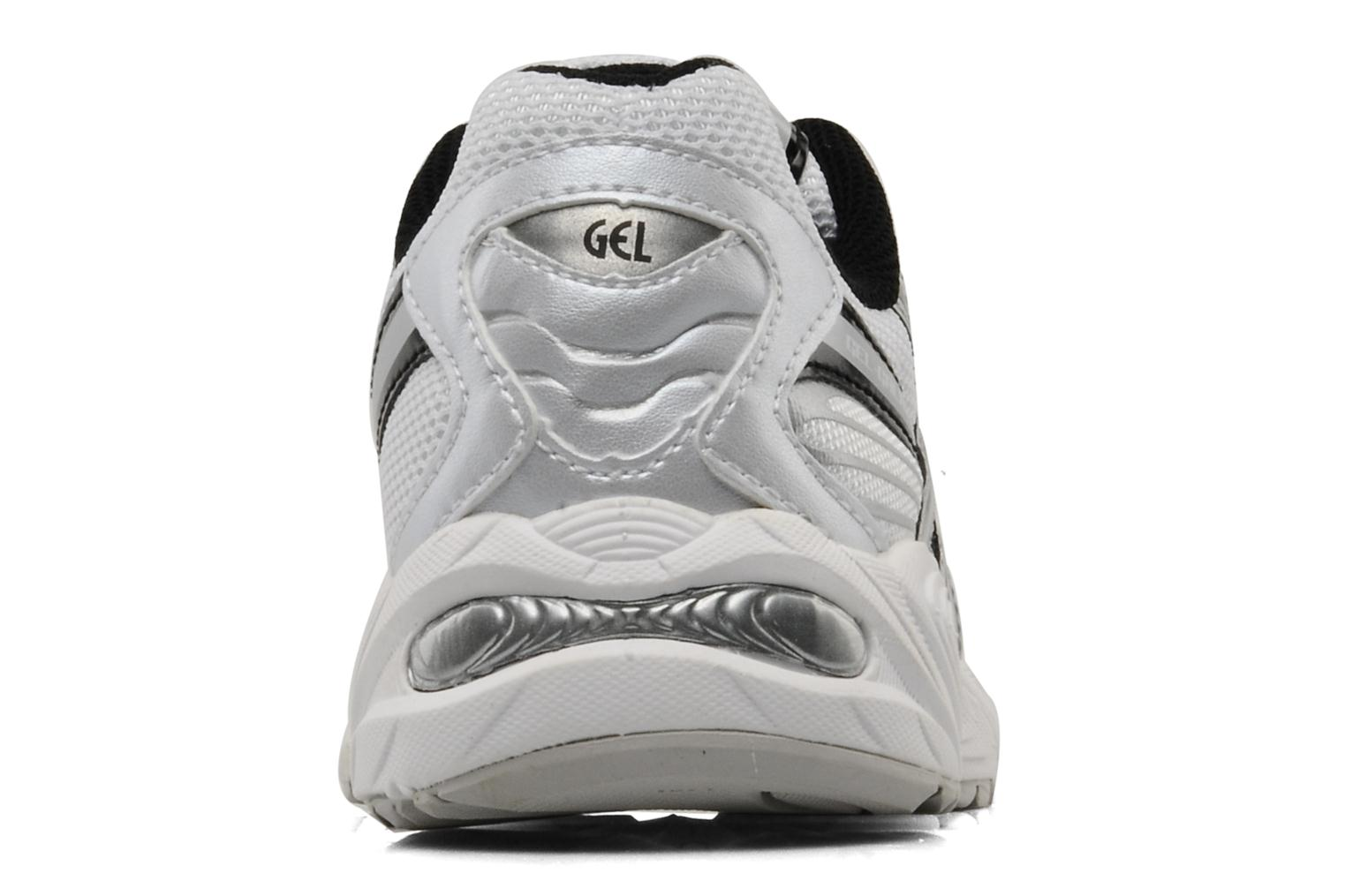 Sport shoes Asics Gel Galaxy 5 GS White view from the right