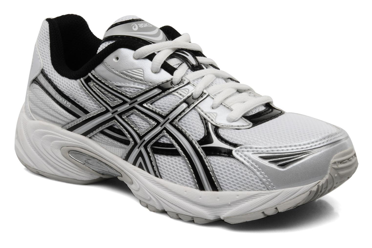 Sport shoes Asics Gel Galaxy 5 GS White detailed view/ Pair view