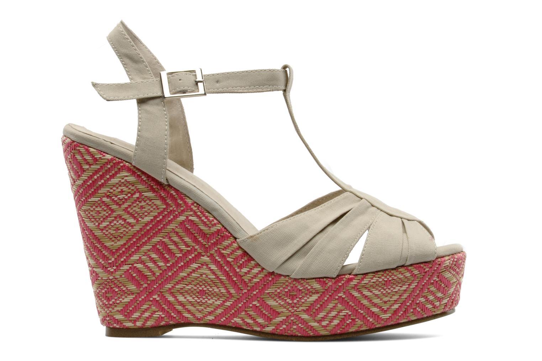 Sandales et nu-pieds Georgia Rose Farto Beige vue derrière