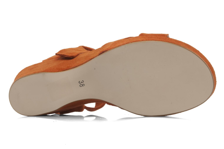 Sandali e scarpe aperte Addict-Initial Ariana Arancione immagine dall'alto