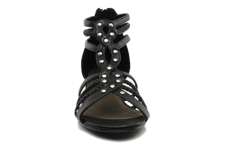Sandales et nu-pieds I Love Shoes Supla Noir vue portées chaussures