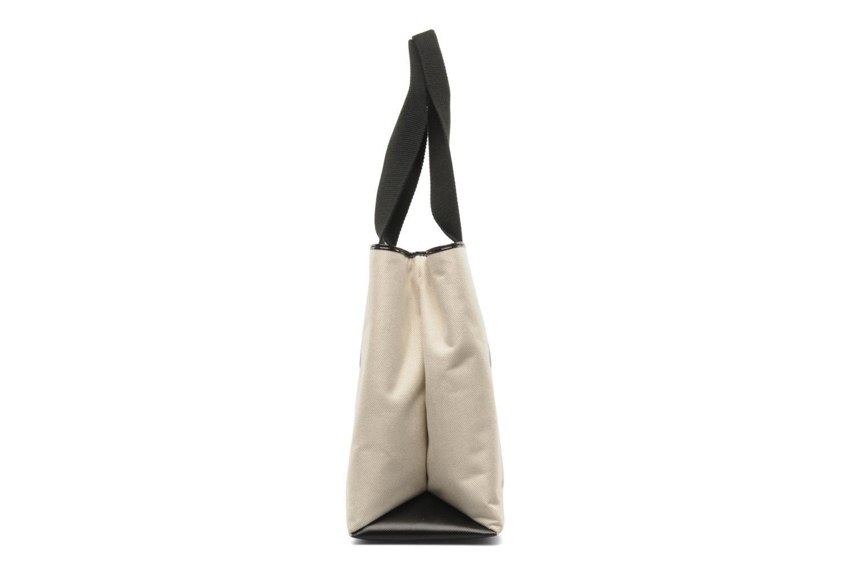 Handtaschen Love Moschino MOOOU BAG CABAS beige ansicht von rechts