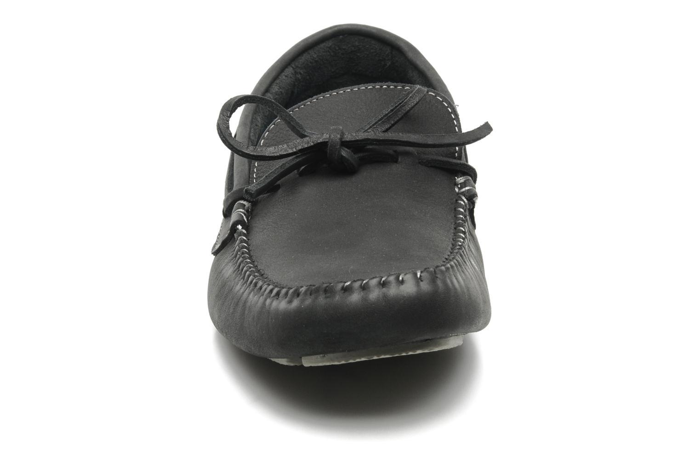 Mocassins Kickers SUNRISE Bleu vue portées chaussures