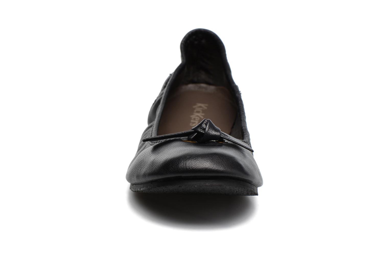 Ballerinaer Kickers Liberta Sort se skoene på