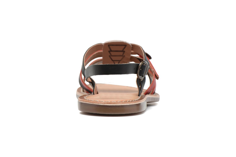 Sandales et nu-pieds Kickers Dixmille Noir vue droite
