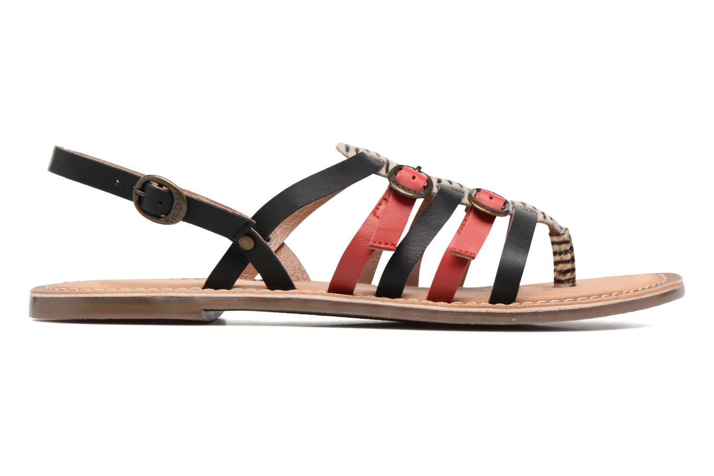 Sandales et nu-pieds Kickers Dixmille Noir vue derrière