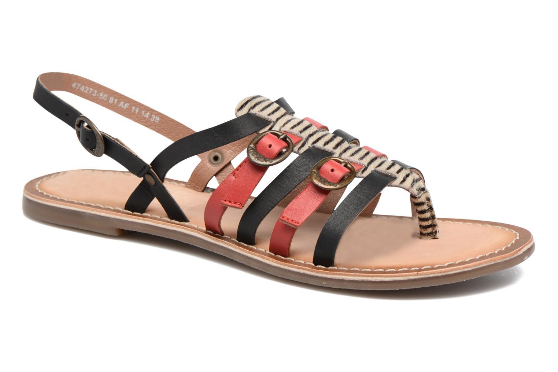 Sandales et nu-pieds Kickers Dixmille Noir vue détail/paire