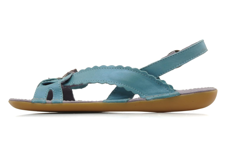 Sandalen Kickers EXTRAFIN Blauw voorkant
