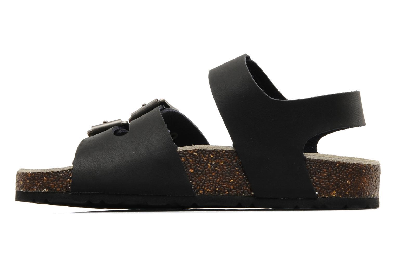 Sandales et nu-pieds Kickers MAGINATION Noir vue face