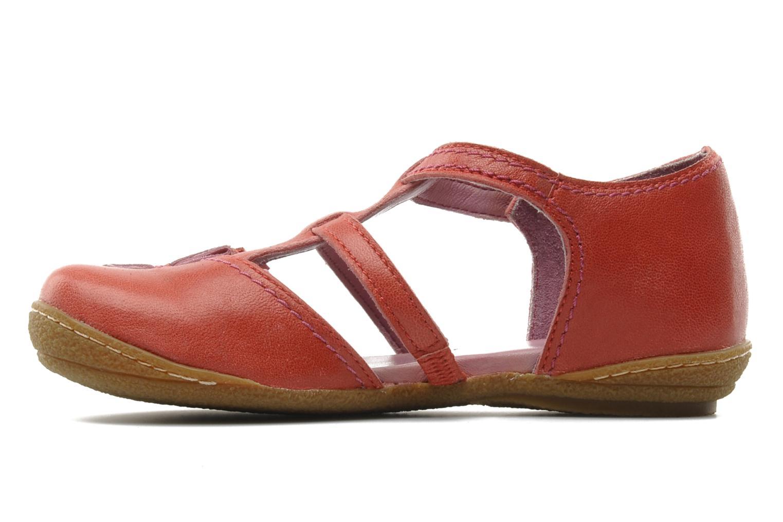 Sandales et nu-pieds Kickers CYCLINE 2 Rouge vue face