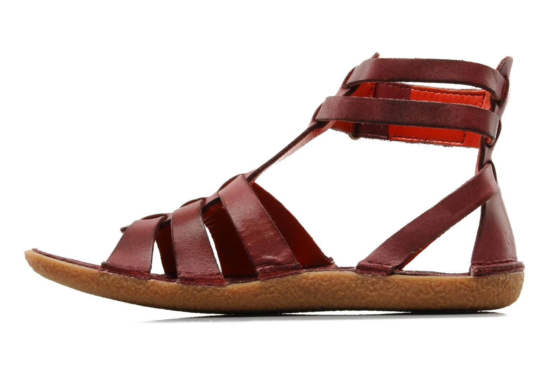 Sandales et nu-pieds Kickers PEPLUM V Violet vue face