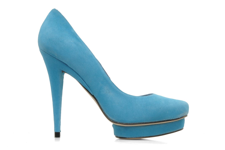 High heels Georgia Rose Giselle Blue back view