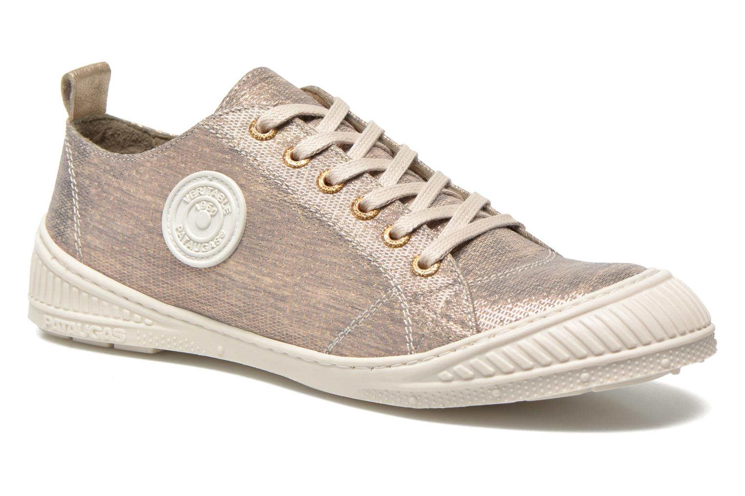 Trainers Pataugas Rock/M W Silver detailed view/ Pair view