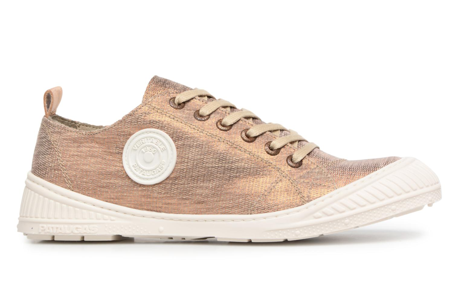 Trainers Pataugas Rock/M W Bronze and Gold back view