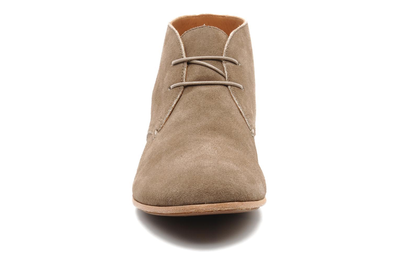 Chaussures à lacets Geox U progress A Beige vue portées chaussures