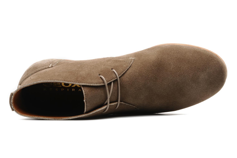 Chaussures à lacets Geox U progress A Beige vue gauche