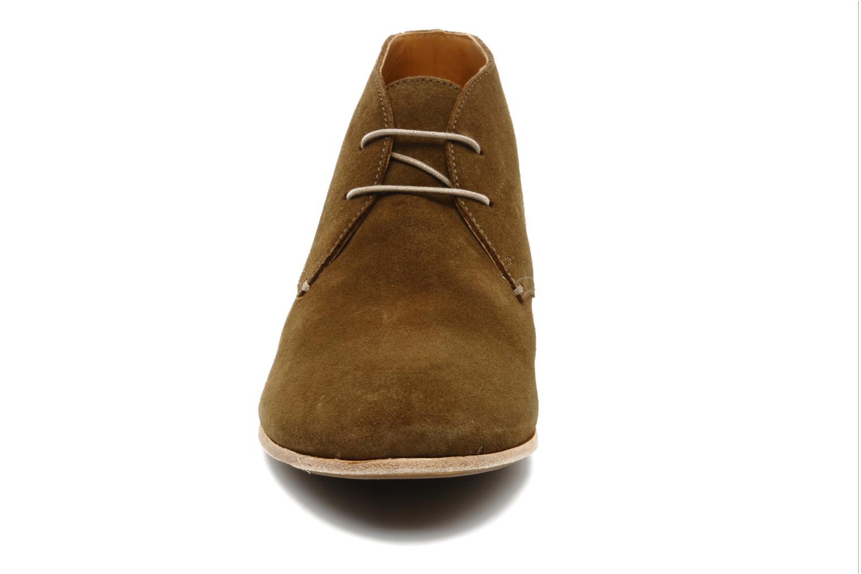 Chaussures à lacets Geox U progress A Marron vue portées chaussures