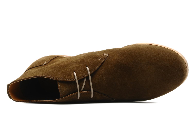 Chaussures à lacets Geox U progress A Marron vue gauche