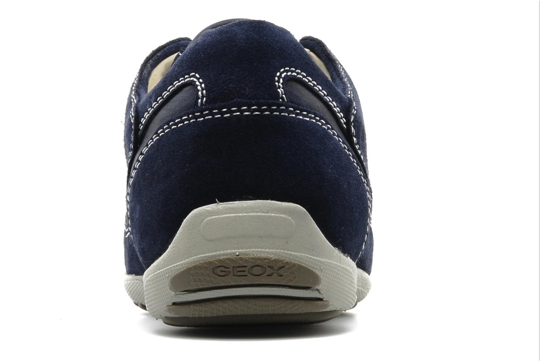 Baskets Geox U mito B Bleu vue droite