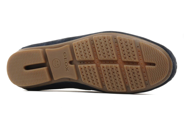 Chaussures à lacets Geox U lux B Bleu vue haut