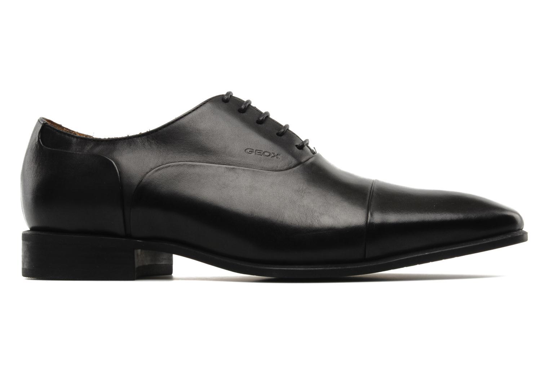 Chaussures à lacets Geox U hight life Q Noir vue derrière