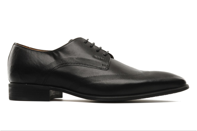 Chaussures à lacets Geox U hight life T Noir vue derrière
