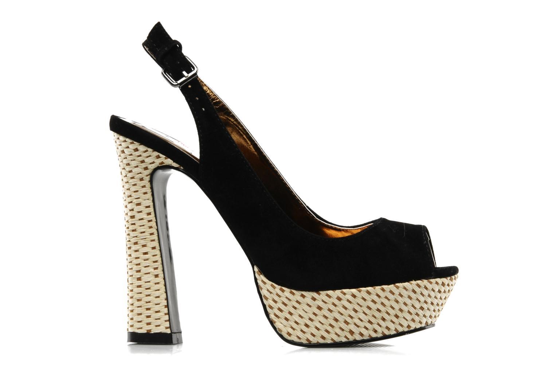 Sandalen I Love Shoes Leia schwarz ansicht von hinten