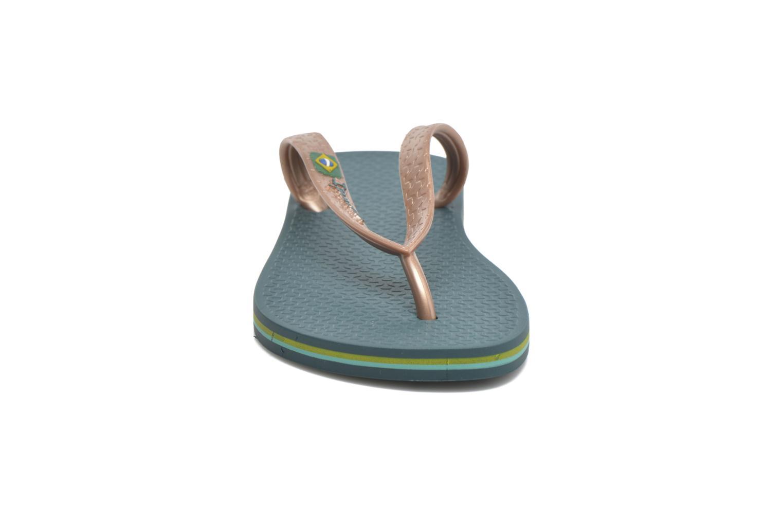 Zehensandalen Ipanema Classica Brasil II f grün schuhe getragen
