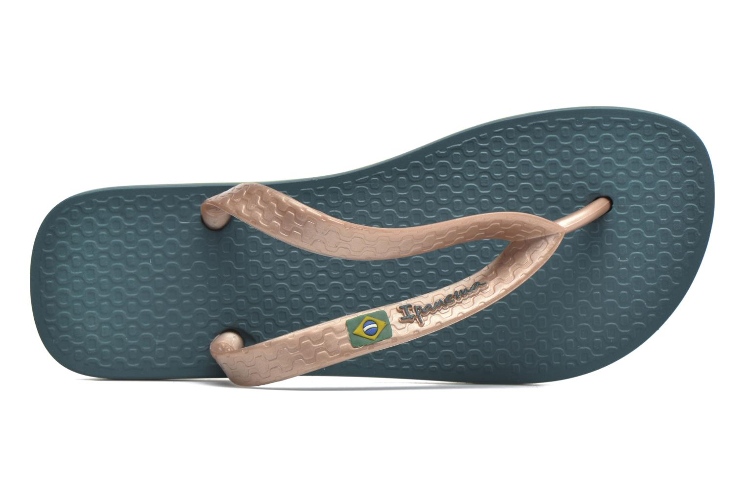 Flip flops Ipanema Classica Brasil II f Green view from the left