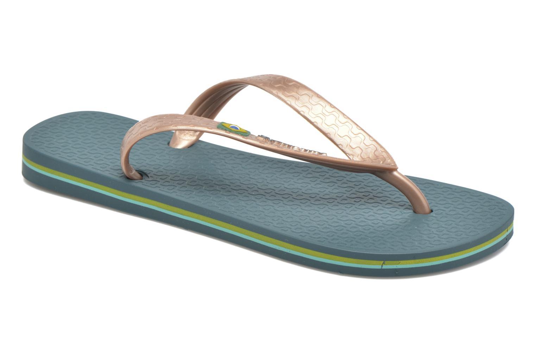 Slippers Ipanema Classica Brasil II f Groen detail