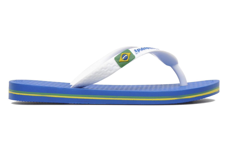 Chanclas Ipanema Classic brasil II k Azul vistra trasera