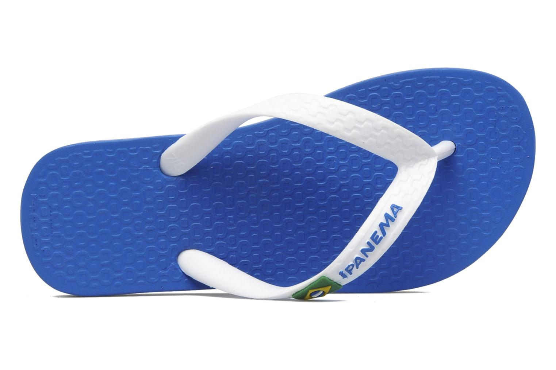 Tongs Ipanema Classic brasil II k Bleu vue gauche