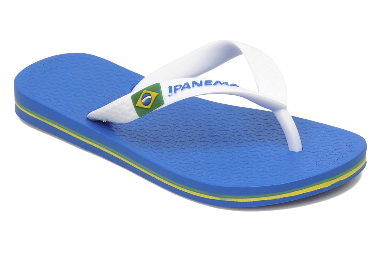 Flip flops Ipanema Classic brasil II k Blue detailed view/ Pair view