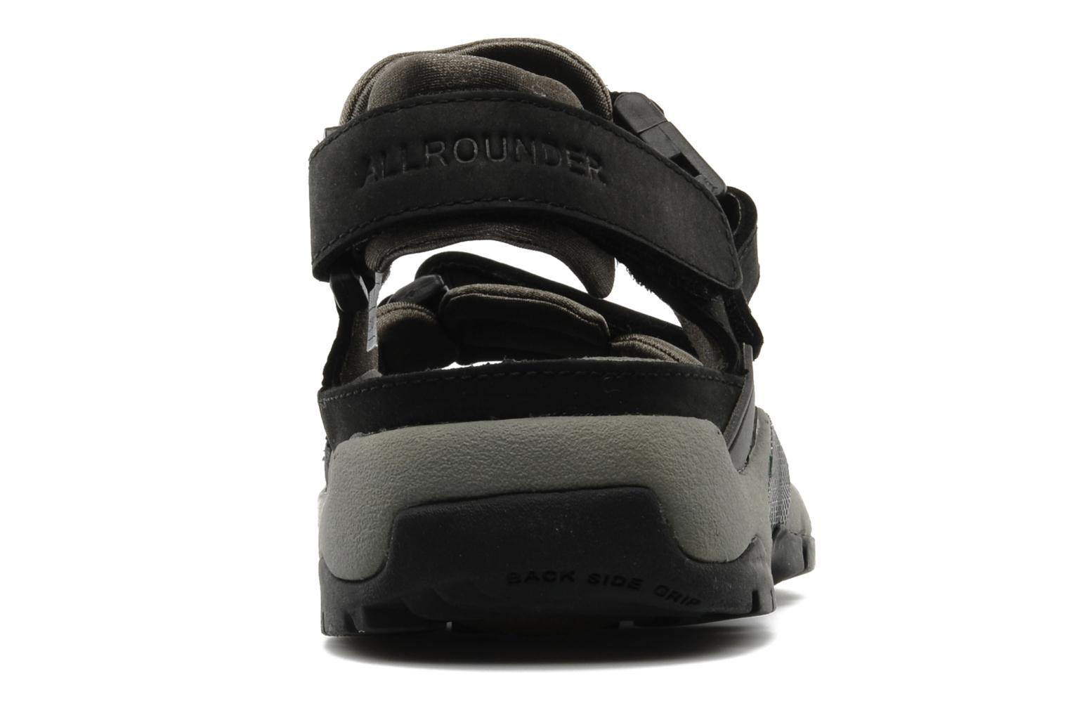 Sport shoes Allrounder by Mephisto Alligator Black view from the right