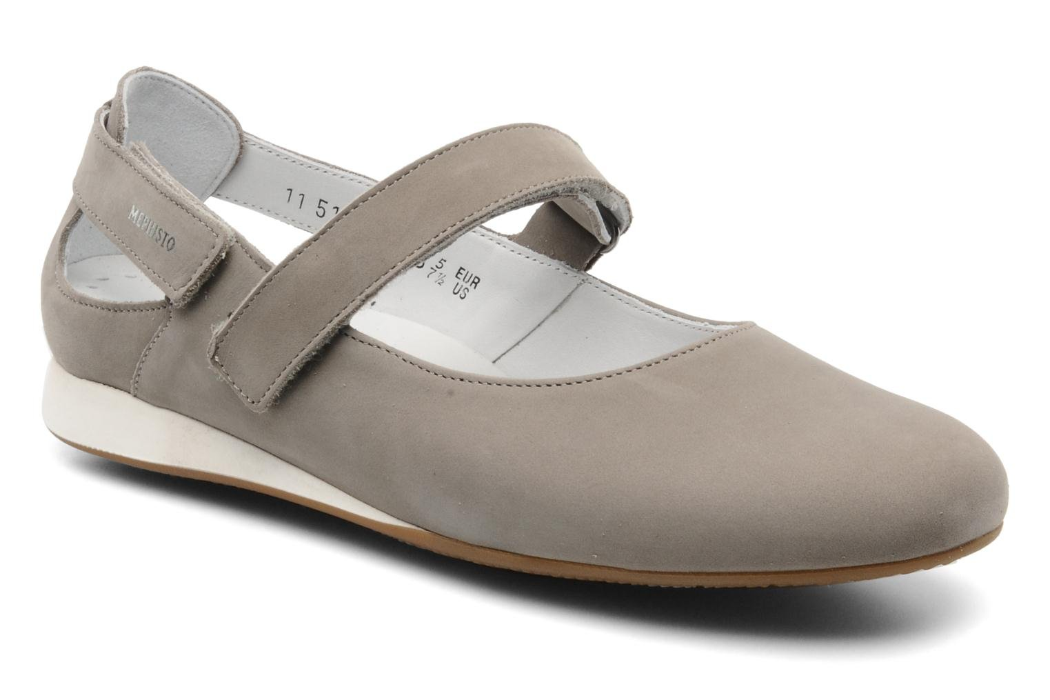 Ballerines Mephisto Betty Gris vue détail/paire