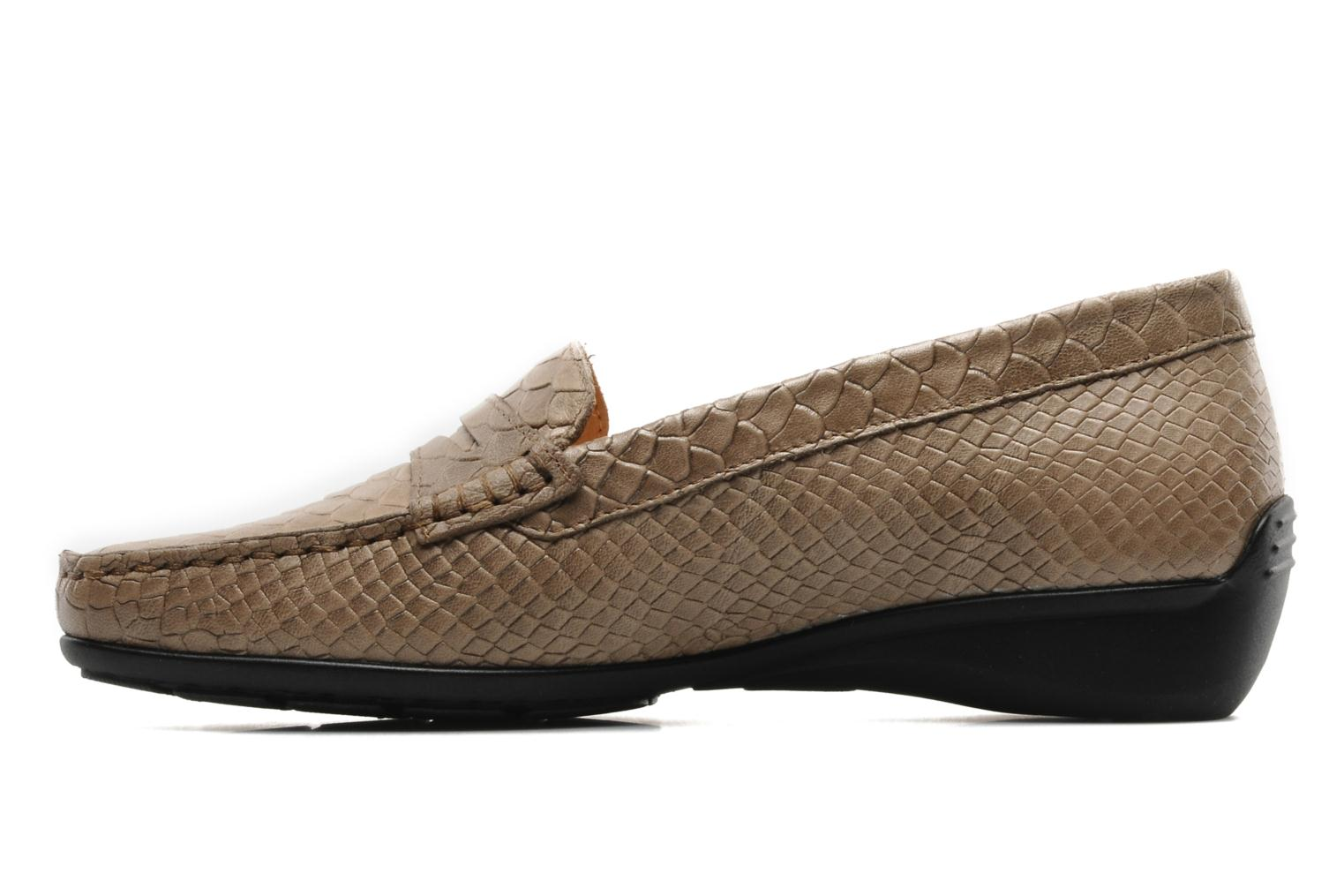 Loafers Mephisto Ninon Brown front view