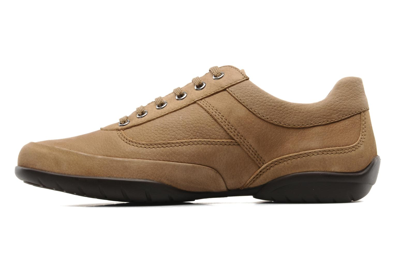 Lace-up shoes Mephisto Balek Beige front view