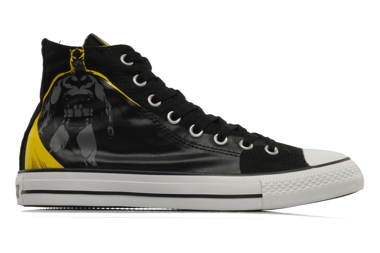 Sneaker Converse Chuck Taylor All Star DC Batman Cape Hi M schwarz ansicht von hinten