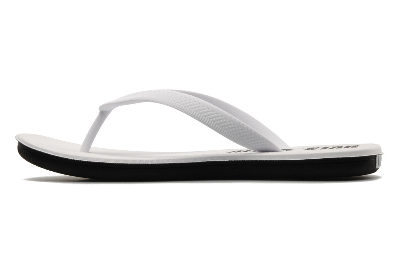 Slippers Converse Sandstar Polka dot W Wit voorkant