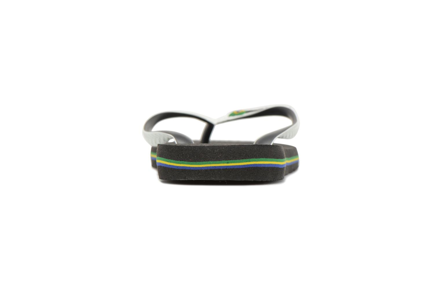 Flip flops Havaianas Brasil Mix H Black view from the right