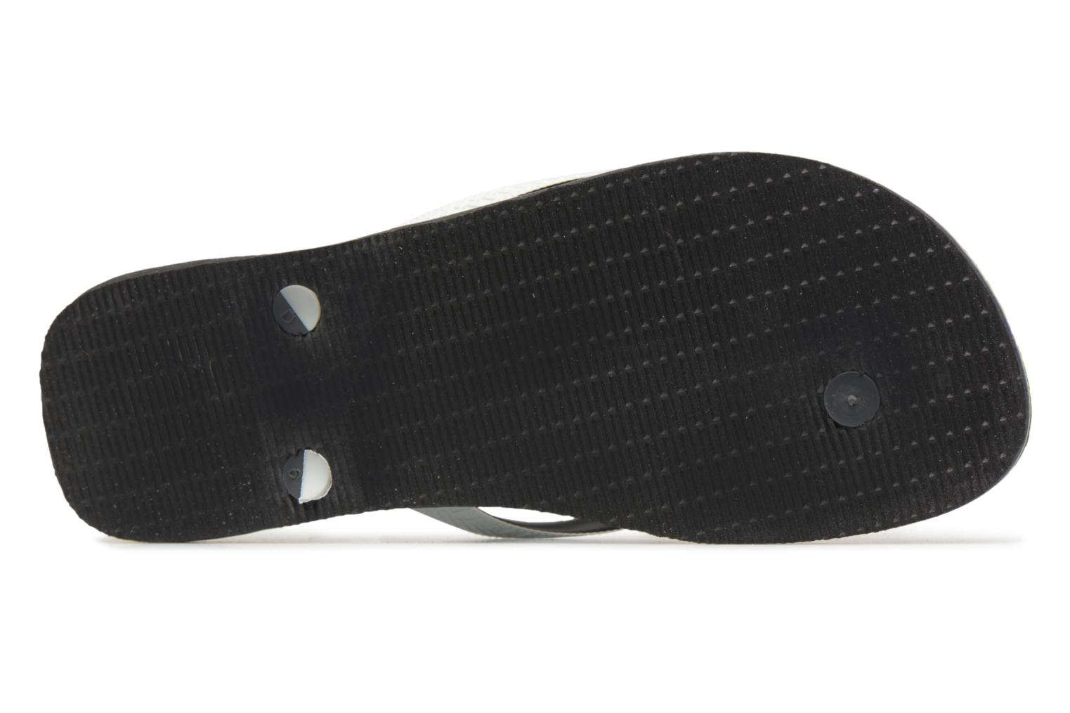 Flip flops Havaianas Brasil Mix H Black view from above